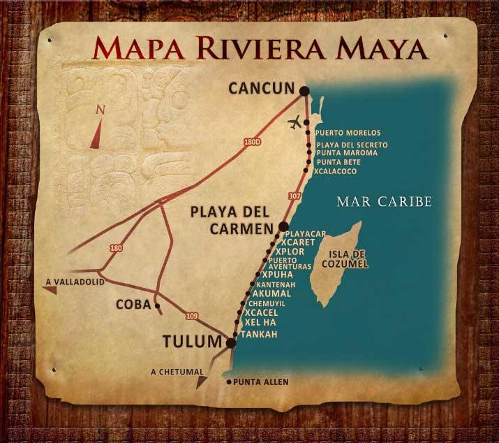 mapa ririvera maya